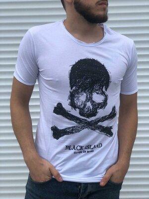 Стильная мужская футболка.Распродажа s-m-l-xl