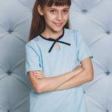 Блуза школьная короткий рукав