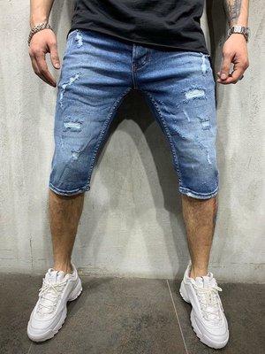 Стильные мужские джинсовые шорты 29-36