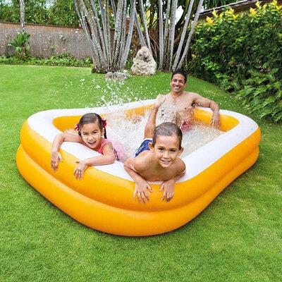 57181 надувной бассейн Intex Мандарин
