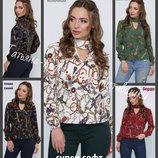42-50, Женская блуза с чокером. Летняя женская блузка. Жіноча блузка. Блуза женская.
