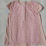 Нежная туника платье футболка TU на 18-24 месяцев рост 86-92 см