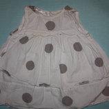 Очаровательные платья для маленьких принцесс от 3до 12мес.в отличном с