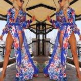 Сексуальное пляжное платье халат vestidos