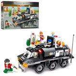 Конструктор Sembo 102367 Аналог Лего Lego SWAT Бронетранспортер 368 деталей