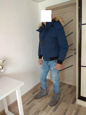 l-xl 52-54 зимний мужской пуховик Сша оригинал