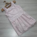 Платье гепюр пудра на 3-4 года H&M