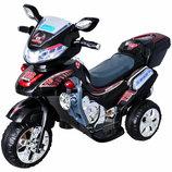 Электромобиль, мотоцикл. Bambi. Черный , Серебристый, Красный.
