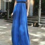 Яркое нарядное платье оверсайз масло кружево