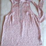 Блуза атлас звездочки, размер S