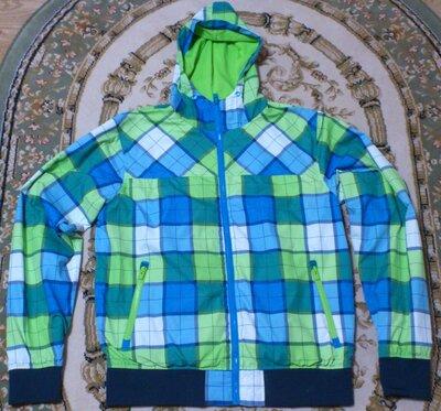 Ветровка мужская цветная Куртка демисезонная Вітровка чоловіча кольорова Fishbone р.L