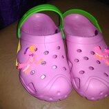 Пляжные босоножки 32-35 р. кроксы, сандалии, крокси, пенка, босоніжки, сандалі, пенка, бассейн