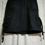 Чёрная летняя юбка l.o.g.g