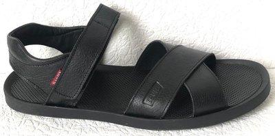 Шок Levis летние кожаные сандалии мужские босоножки в стиле Левис босоножки