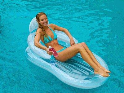 Матрас-Кресло Комфортное плавание Intex 155x97 58857