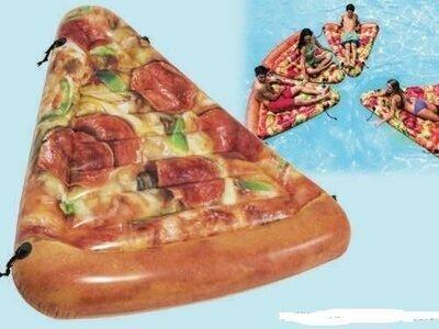 58752 Надувной плотик Пицца 175х145см