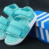 Сандалии женские Adidas Adilette Sandal Blu Адидас Адилетте