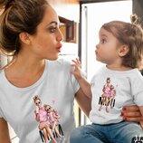 Family look футболки для всей семьи комплект ам 453