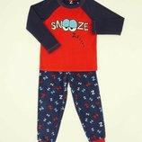 Флисовая пижамка dunnes stores для мальчиков на 7-8,8-9,9-10 лет