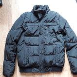 Зимняя черная курточка на меху М
