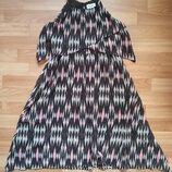 Оригинальное шифоновое платье-макси H&M р.146