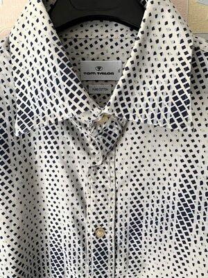 Интеренся рубашка в принт TOM TAILOR XL
