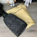 Сумка-Слинг Louis Vuitton Avenue Sling Bag Damier Graphite, барсетка