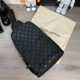Сумка-Слинг Louis Vuitton Avenue Sling Bag Damier Infini натуральная кожа