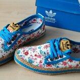 Эспадрильи, мокасины adidas женские