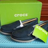 Мокасины слипоны crocs walu ii 37 и 38 размер оригинал