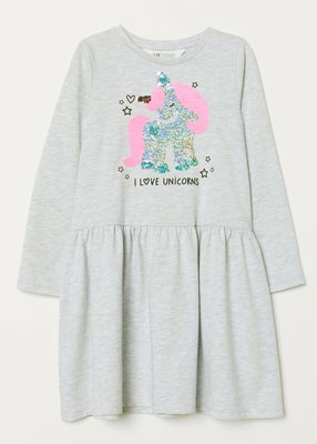 Платье H&M Двусторонние паетки Размеры на 6-10 лет