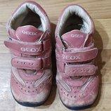 Кроссовки Geox Натуральная кожа Дача толокар беговел размер 25 Очень хорошие кроссовки Geox были р