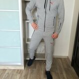 Спортивный костюм Puma Gray светло-серый