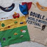 футболки Miki House Мики Хаус- 2шт, размер -110см. Оригинал