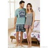 Шикарный летний комплект или мужская пижама домашний костюм Livergy Германия, футболка шорты