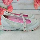 Туфли- балетки на девочку 34 размер Skechers