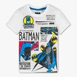 Белая футболка с Бэтменом для мальчика C&A Германия Размер 116, 122, 128, 140
