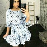 Платье 42-44 46-48 размеры 3 цвета