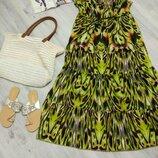 Яркий фирменный женский сарафан. Летнее платье.