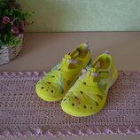 Р. 29 - 20 см. Летняя резиновая обувь для девочки. аквашузы, аналог Crocs.
