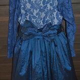 Шикарное нарядное платье на 5-6 лет