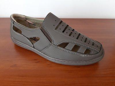 Мужские босоножки сандалии коричневые