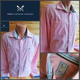 Оригинальная мужская рубашка известного британского бренда Crew Clothing, оригинал.