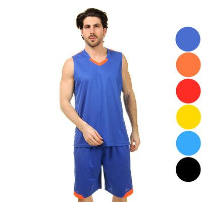 Форма баскетбольная мужская Ease 8002 баскетбольная форма 6 цветов, размер L-5XL рост 160-190см