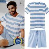 Красивый летний комплект или мужская пижама домашний костюм Livergy Германия, футболка шорты