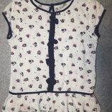 Легкое вискозное платье TU. На девочку 8 лет. Рост 128 см.