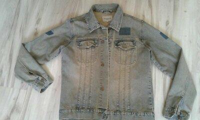Продам мужскую джинсовую куртку moto S