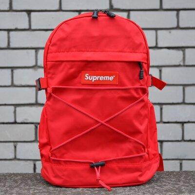 Рюкзак городской красный Supreme Bag Red унисекс New.