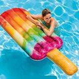 Intex Плотик Фруктовое мороженое размер 191х76см, от 12-ти лет