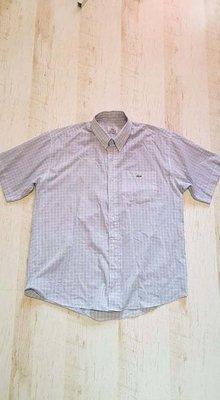 Легкая летняя рубашка вклетку Lacoste